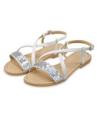 Lily & Dan Glitter Sandals