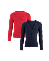 Girls' Knitted Cardigans 2 Pack
