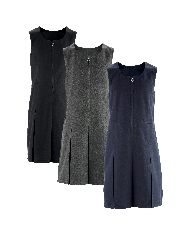 1b77e84c09 Girls' Pinafore Dresses 2 Pack - ALDI UK