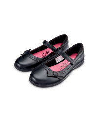 Girls' Scuff Resistant Shoes  - Black