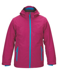 Girl's Snowboard Jacket - Berry