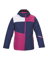 Girl's Snowboard Jacket - Blue