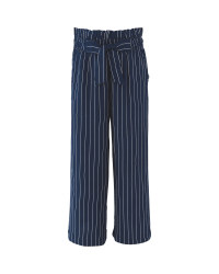 Girl's Striped Summer Trousers