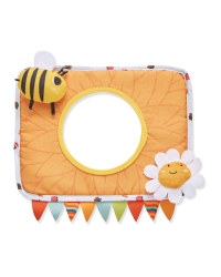Bee & Flower Tummy Time Mirror Toy