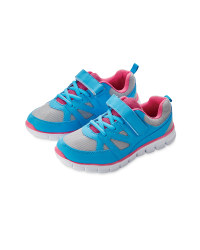 Girls' Turquoise Trainers