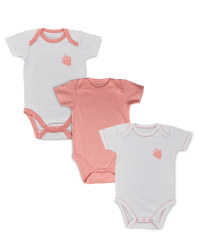 Girls' Bodysuit 3 Pack