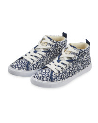Lily & Dan Floral Hi-Top Trainer