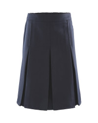 Girls' Pleated Skirt - Navy