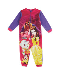 Girls Beauty & The Beast Onesie