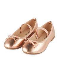 Girls' Bow Party Shoes