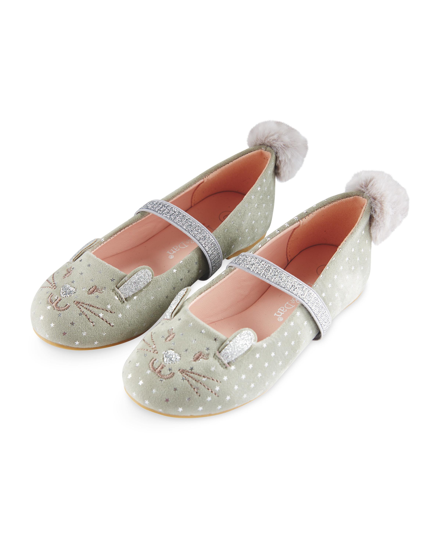 d2a3f614c623 Girls Bunny Party Shoes - ALDI UK