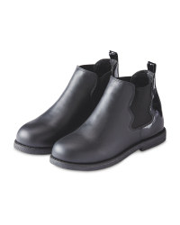Lily & Dan Black Chelsea Boots