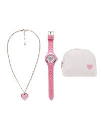 Sempre Heart Watch Gift Set