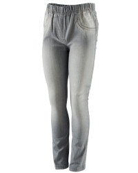 Girls Jeggings - Grey