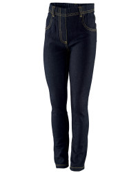 Girls Jeggings - Indigo