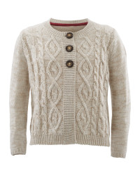 Lily & Dan Kids Knitted Cardigan