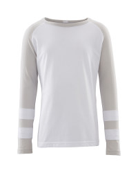 Lily & Dan Long Sleeved Grey Top