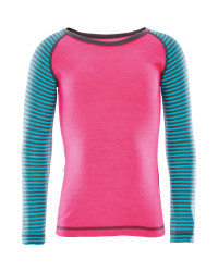 Girls Long Sleeved Merino Top