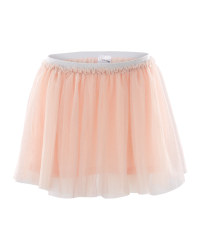Lily & Dan Girls Mesh Tu-Tu Skirt