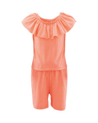 Lily & Dan Kids' Orange Playsuit