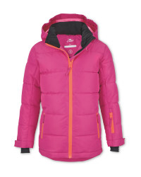 Crane Children's Pink Ski Jacket