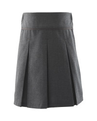 Lily & Dan Girls Pleated Skirt - Grey