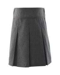 Lily & Dan Girls Pleated Skirt - Grey