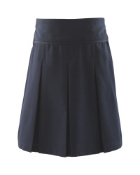 Lily & Dan Girls Pleated Skirt - Navy