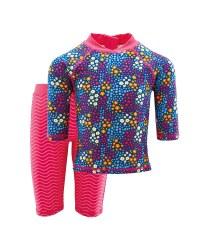 Lily & Dan Floral Sunsafe Suit
