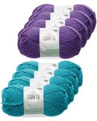 So Crafty Glamour Fancy Yarn 4-Pack