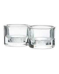 Scentcerity Glass Tealight Holders