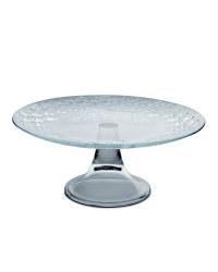 Glass Footed Cake Stand 28cm