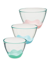 Glass Pastel Mixing Set 3-Piece