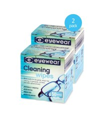 Glasses Cleaning Wipes 2-Pack