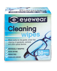 Eyewear Glasses Cleaning Wipes Pack