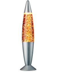 Glitter Lamp - Orange Glitter