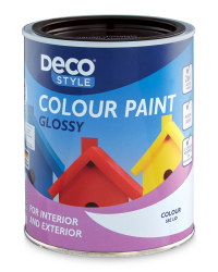 Gloss Paint 1L - Chocolate Brown