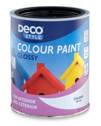 Gloss Paint 1L - Deep Black