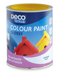 Gloss Paint 1L - Rapeseed Yellow