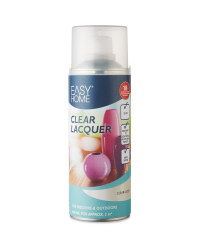 Easy Home Glossy Spray Paint - Clear