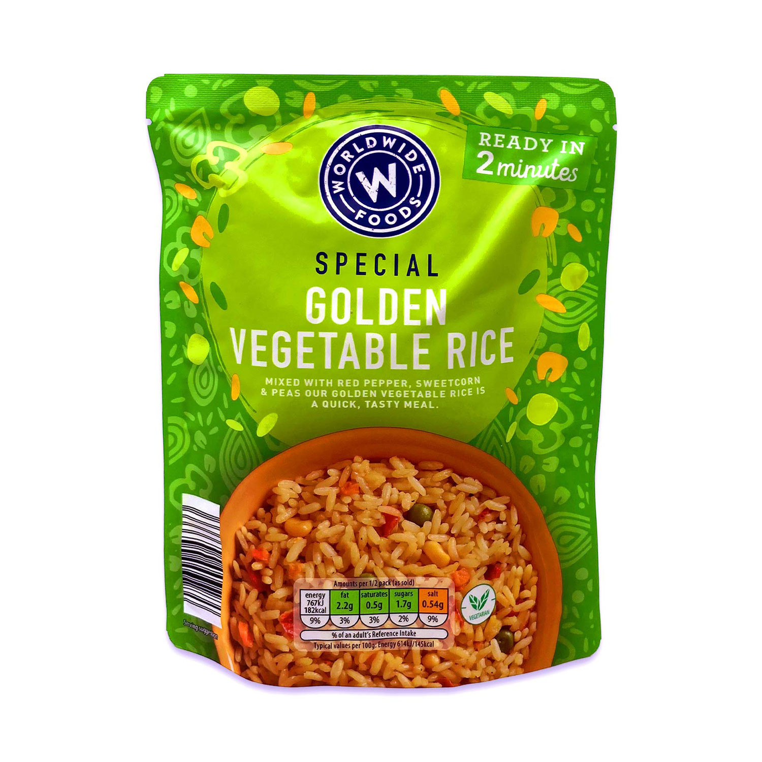 Special Golden Vegetable Rice