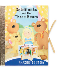 Goldilocks 3D Carousel Book