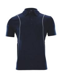 Crane Men's Golf Time Polo Shirt - Navy