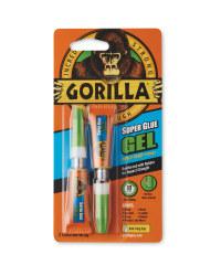 Gorilla Super Glue Gel 2 Pack