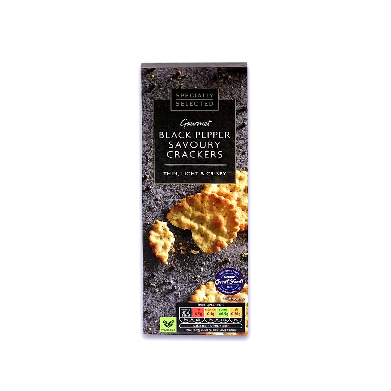 Black Pepper Savoury Crackers