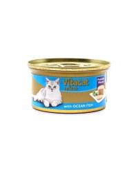 Gourmet Mousse With Ocean Fish Cat