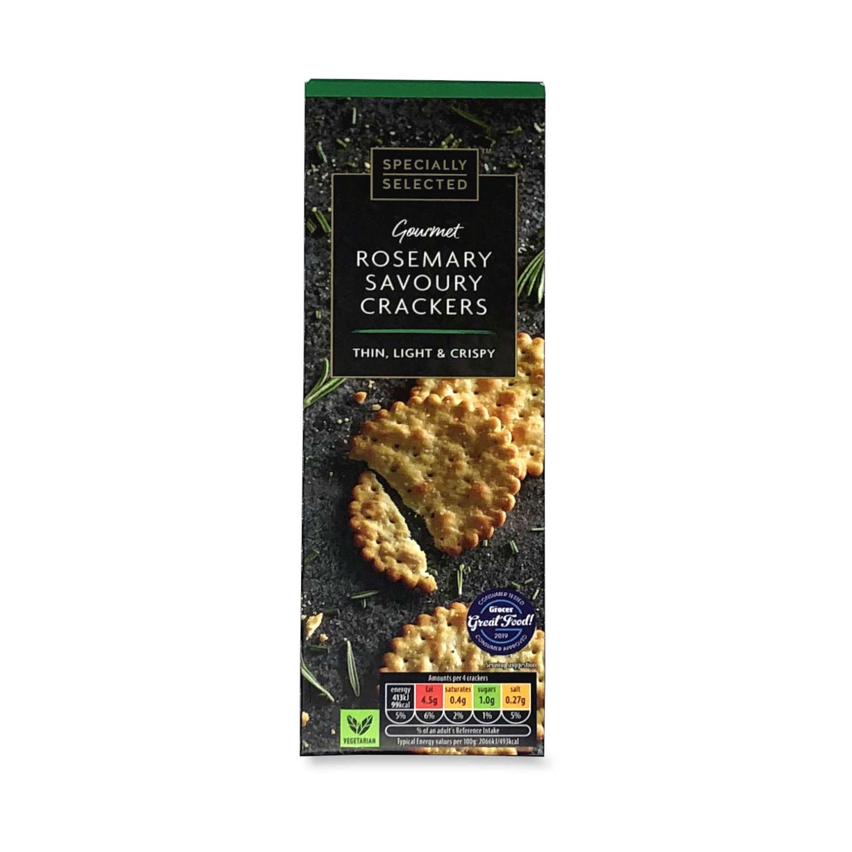 Gourmet Rosemary Savoury Crackers