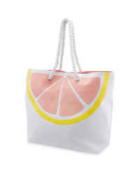 Grapefruit Rope Beach Bag