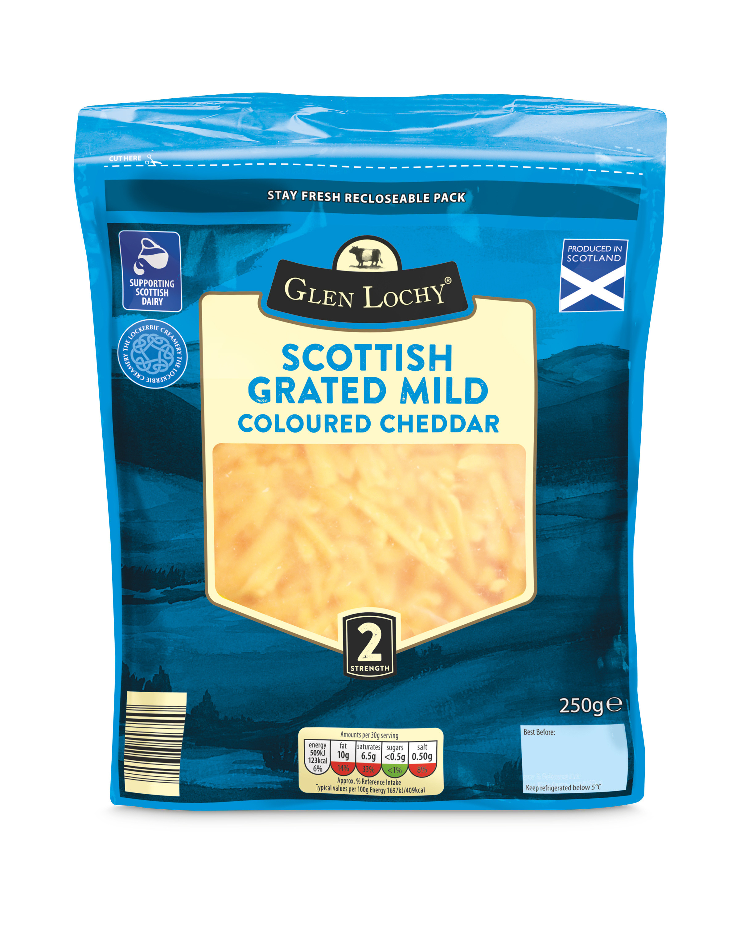 Grated Mild Coloured Cheddar