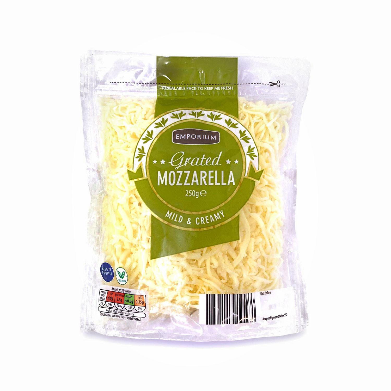 Grated Mozzarella Medium Fat Cheese